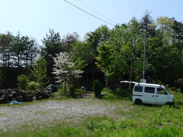 2年前の小屋