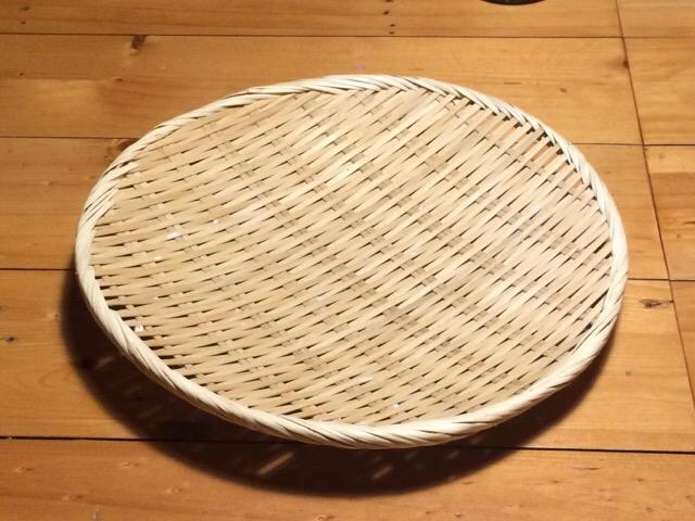 竹細工のザル
