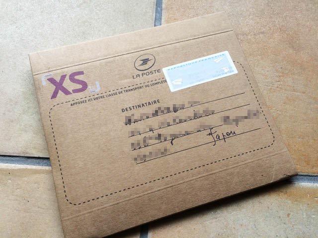 包みが届いた