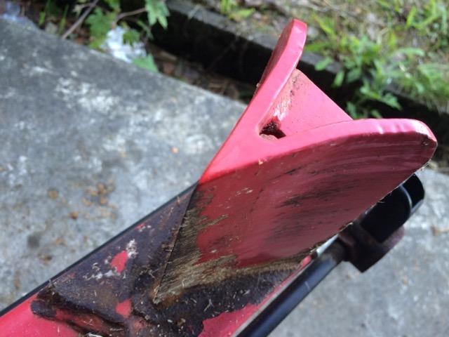 薪割り機の刃