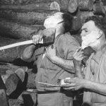 薪割り用の斧は研ぐ?